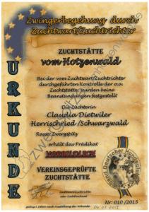 urkunde-zwingerbegehung-claudia-dietwiler-zwergspitze-vom-hotzenwald-1